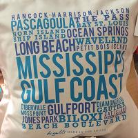 Mississippi Gulf Coast Pillow